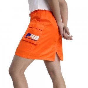 Юбка Cargo Woven Skirt PUMA. Цвет: оранжевый