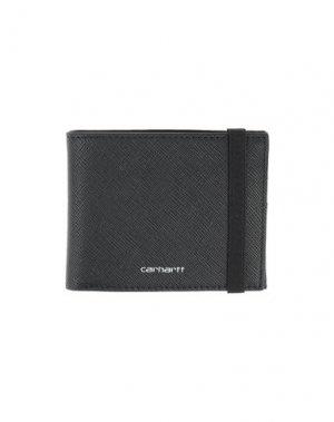 Бумажник CARHARTT. Цвет: черный