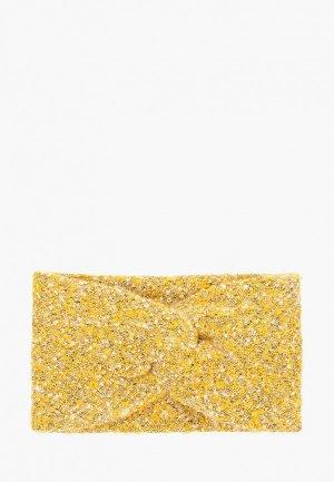 Повязка Pieces. Цвет: желтый