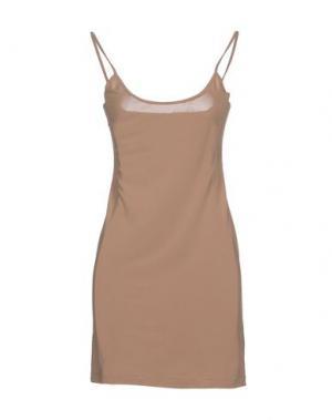 Короткое платье FELIPE OLIVEIRA BAPTISTA. Цвет: хаки