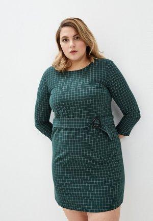 Платье Violeta by Mango. Цвет: зеленый