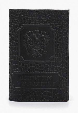 Обложка для документов Olci. Цвет: черный