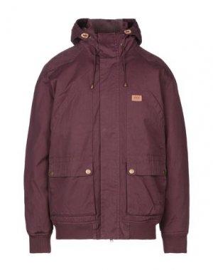 Куртка GLOBE. Цвет: баклажанный