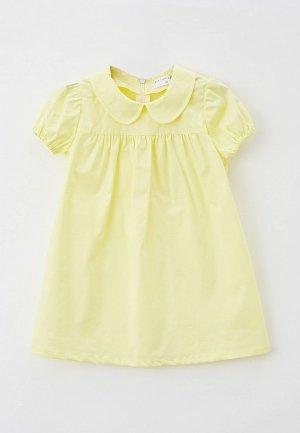 Платье Ete Children. Цвет: желтый