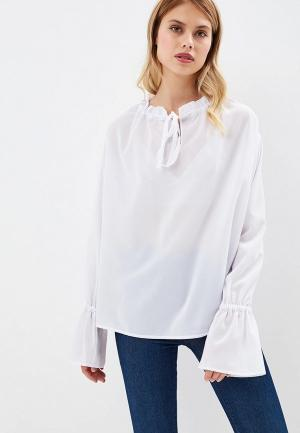 Блуза AlexandraKazakova. Цвет: белый