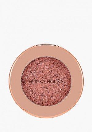 Тени для век Holika Фойл Шок, тон 01, серо-розовый. Цвет: розовый