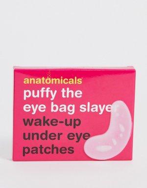 Восстанавливающие и снимающие припухлость диски для глаз -Бесцветный Anatomicals