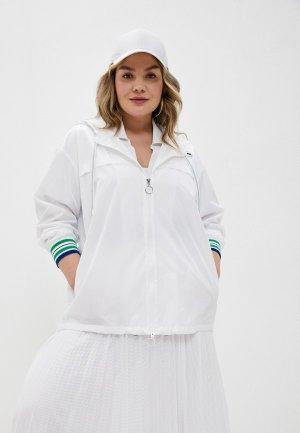 Ветровка Marina Rinaldi Sport TAHITI GYM. Цвет: белый
