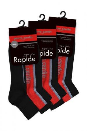 Спортивные укороченные носки Pierre Cardin. Цвет: черный