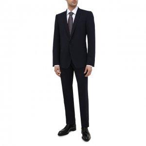 Шерстяной костюм Dolce & Gabbana. Цвет: синий