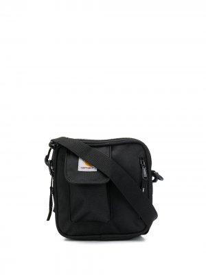 Маленькая сумка-мессенджер Essentials Minimum Carhartt WIP. Цвет: черный