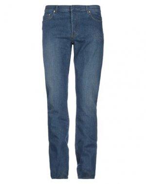Джинсовые брюки DIOR HOMME. Цвет: синий