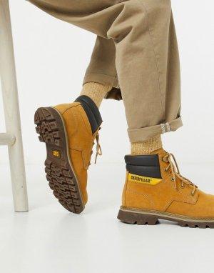 Светло-коричневые походные ботинки Caterpillar-Светло-коричневый Cat Footwear