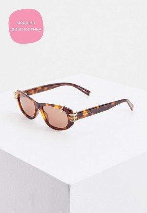 Очки солнцезащитные Givenchy GV 7176/S 086. Цвет: коричневый