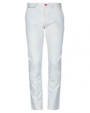 Повседневные брюки FRED MELLO. Цвет: светло-серый