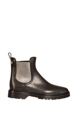 Резиновые ботинки LEMON JELLY. Цвет: серый