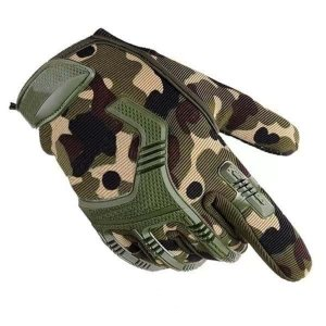 Мужские перчатки с камуфляжным принтом SHEIN. Цвет: многоцветный