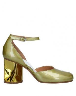 Туфли MAISON MARGIELA. Цвет: светло-зеленый