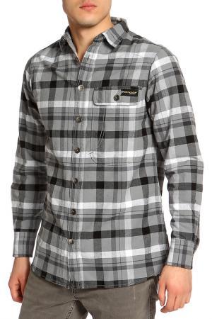 Рубашка Dunlop. Цвет: black