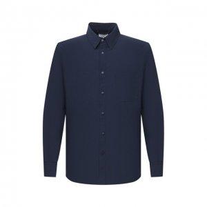 Куртка-рубашка Aspesi. Цвет: синий