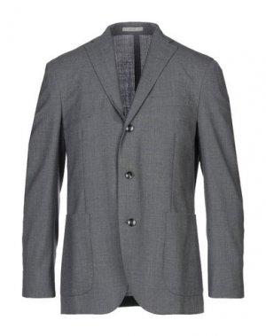 Пиджак BOGLIOLI. Цвет: свинцово-серый
