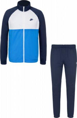 Костюм мужской Sportswear, размер 50-52 Nike. Цвет: синий