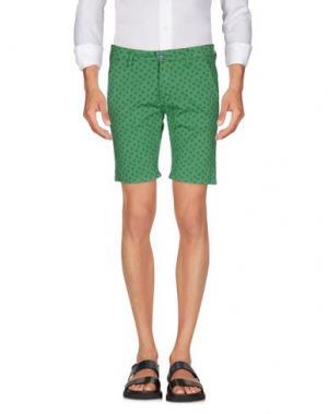 Повседневные шорты EXCLUSIVE. Цвет: зеленый