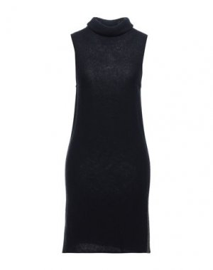 Короткое платье JO NO FUI. Цвет: темно-синий