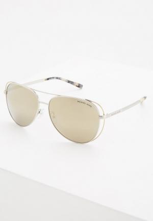 Очки солнцезащитные Michael Kors MK1024 11765A. Цвет: серебряный
