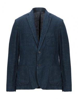 Пиджак 120%. Цвет: темно-синий