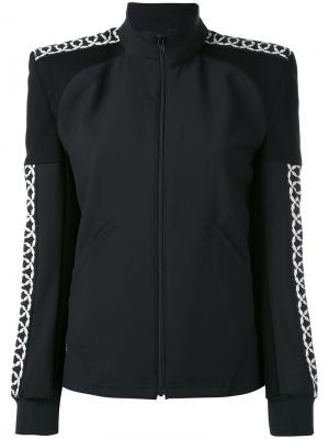 Куртка-бомбер с подчеркнутой линией плеча Junya Watanabe Comme Des Garçons. Цвет: чёрный