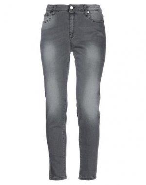 Джинсовые брюки GOTHA. Цвет: свинцово-серый