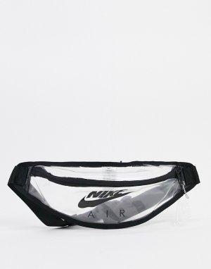 Прозрачная сумка-кошелек на пояс Heritage-Очистить Nike