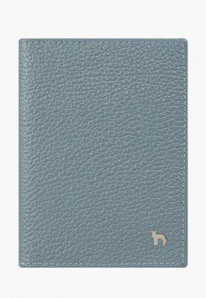 Обложка для документов Mumi. Цвет: голубой