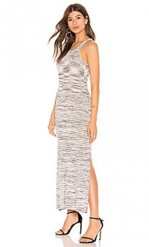Платье Splendid. Цвет: серый