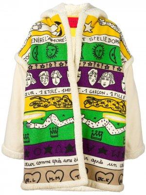 Куртка кроя оверсайз с принтом JC de Castelbajac Pre-Owned. Цвет: разноцветный