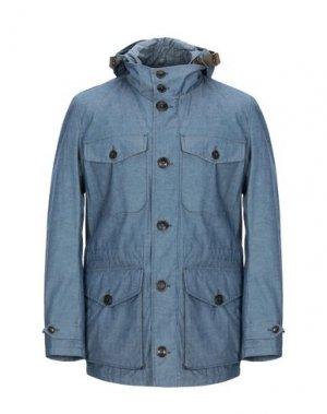 Куртка BARACUTA. Цвет: грифельно-синий