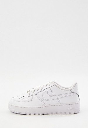 Кеды Nike AIR FORCE 1 LE (GS). Цвет: белый