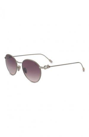 Солнцезащитные очки Fred. Цвет: фиолетовый