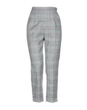 Повседневные брюки I'M ISOLA MARRAS. Цвет: серый