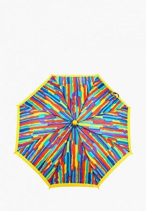 Зонт-трость Zemsa. Цвет: разноцветный