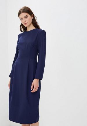Платье AlexandraKazakova 1513ТС. Цвет: синий