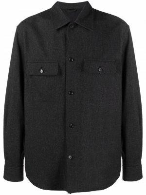 Рубашка M. Oscar Filippa K. Цвет: серый