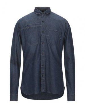 Джинсовая рубашка LANVIN. Цвет: синий