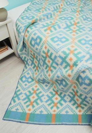 Одеяло 1,5-спальное Arloni. Цвет: голубой