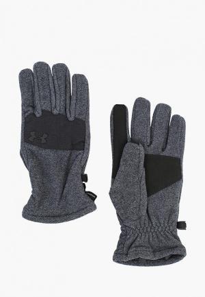 Перчатки Under Armour UN001DMBVBF4. Цвет: серый