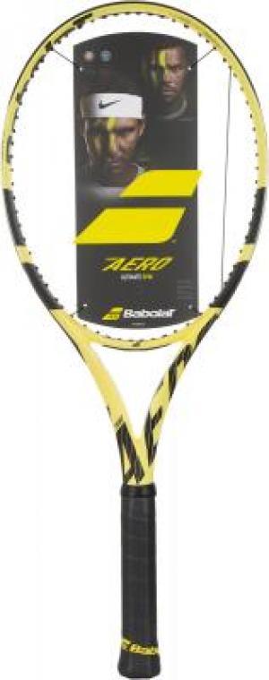 Ракетка для большого тенниса Pure Aero Babolat. Цвет: желтый