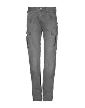 Повседневные брюки GAS. Цвет: свинцово-серый