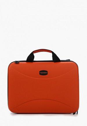 Чехол для ноутбука Fedon 1919 15.6. Цвет: оранжевый