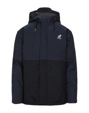 Куртка FAT MOOSE. Цвет: темно-синий